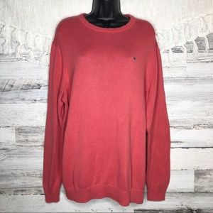 Vineyard Vines Coral knitted thick sweater